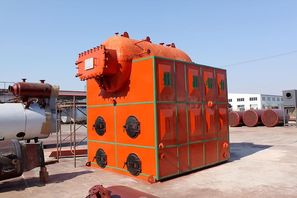 新型水冷炉排螺纹烟管常压锅炉